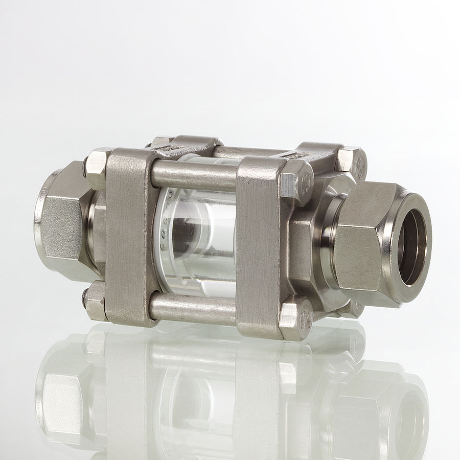 Sight Glass Fittings for Pipelines - Hy-Lok D Vertriebs GmbH